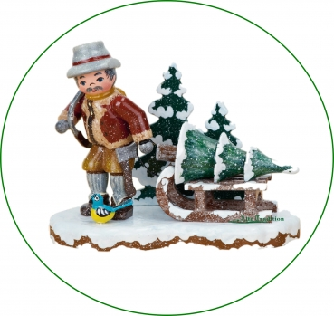 Hubrig Winterkinder Christbaumdieb 9 x 8 cm